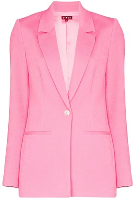 STAUD Madden single-breasted blazer