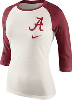 Nike Women's Alabama Crimson Tide Triblend Veer Raglan T-Shirt