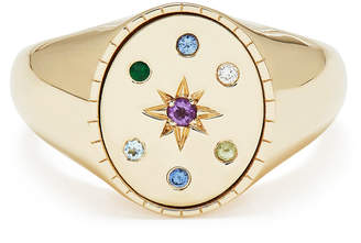 Isabella Collection Bondeye Jewelry Yellow-Gold Signet Ring