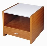 Tawney End Table with Storage Ebern Designs