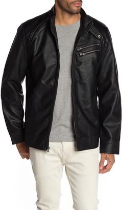 X-Ray Xray Faux Leather Jacket
