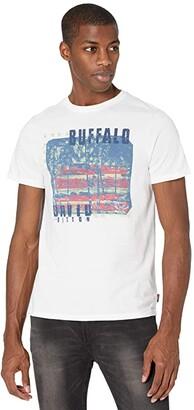 Buffalo David Bitton Tadom Tee (White) Men's Clothing