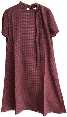 Max Mara Weekend Red Silk Dresses