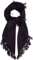 Isabel Marant Zila cashmere and wool-blend scarf