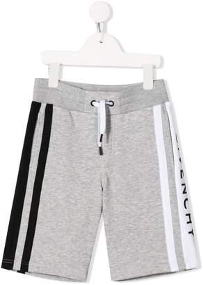 Givenchy Kids logo drawstring shorts