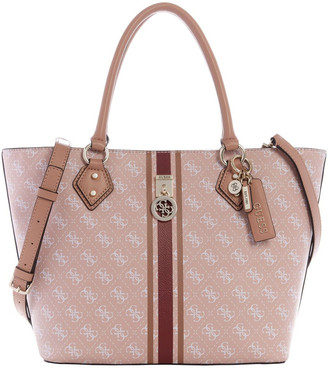 GUESS SS787623ROS Jensen Double Handle Tote Bag