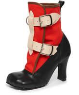 Vivienne Westwood Red Bondage Boots Size 5