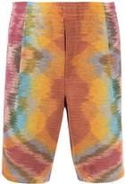 Missoni tie-dye knee length shorts