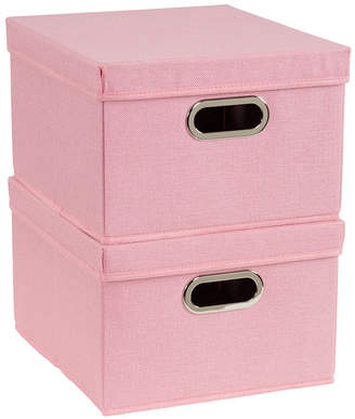 Household Essentials 2-Pc. Carnation Storage Box Set