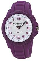 Lorus Women's Watch Analogue Quartz with Rubber Strap R2377JX9