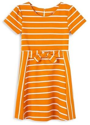 Habitual Little Girl's A-Line Striped Dress