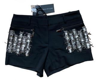 Thomas Wylde Black Shorts for Women