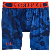 """Under Armour Boys' HeatGear® Sonic 4"""" Fitted Shorts"""