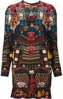 DSQUARED2 all-over Japanese print dress - women - Silk/Cotton - 40