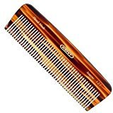 Kent The Handmade Comb - 146 mm Medium Size for Thick/Coarse Hair Sawcut 12T by