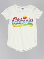 Junk Food Clothing Toddler Girls California Tee-sugar-2t