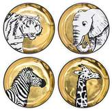 Jonathan Adler Animalia Coasters, Set of 4
