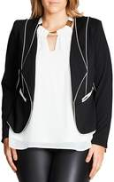 City Chic Pipe Dream Jacket