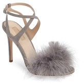 Topshop Women's Reine Feathered Sandal