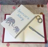 What Katie did next Personalised New Baby Journal