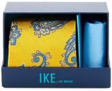 Ike Behar Paisley Silk Tie & Handkerchief