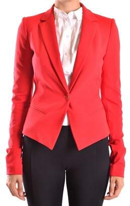 Pinko Women's Red Polyester Blazer.