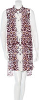 Mara Hoffman Leopard Print Sleeveless Dress w/ Tags