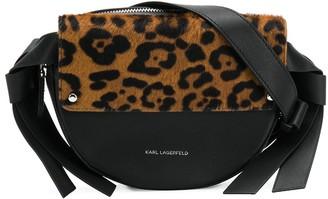 Karl Lagerfeld Paris K/Ikon Leopard Belt Bag