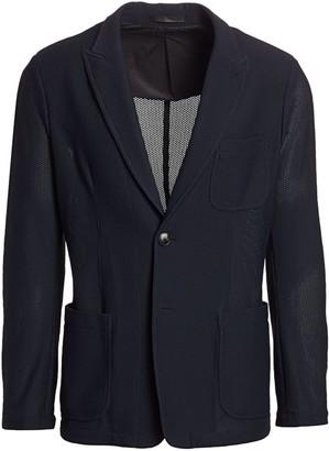 Giorgio Armani Textured Wool Sport Jacket
