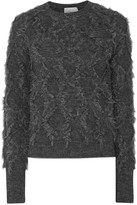 3.1 Phillip Lim Fringed knitted sweater