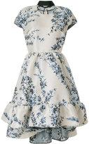 Fendi floral flared dress