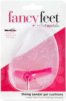 Foot Petals Fancy Feet by Thong Sandal Gel Cushions Shoe Inserts