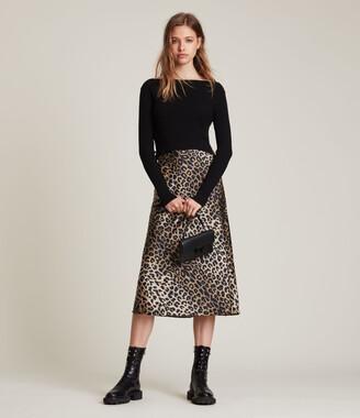 AllSaints Hera Leppo 2-In-1 Dress