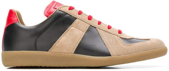 Maison Margiela Replica colour-block sneakers