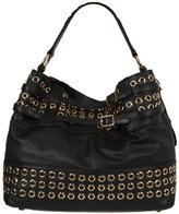 Eyelet Devote Studded Tote in Ebony