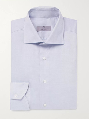 Canali Textured-Cotton Shirt