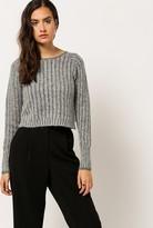 Azalea Cropped Knit Sweater