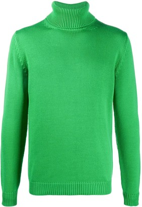 Roberto Collina Roll-Neck Merino Jumper
