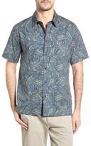 Quiksilver Men's Waterman Collection Big Cruiser Camp Shirt