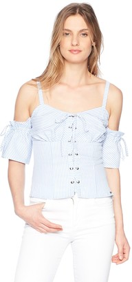 GUESS Women's Sleeveless Kate Shirt
