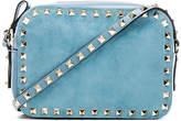 Valentino Rockstud Suede Crossbody Bag