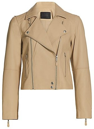 Paige Fontana Leather Moto Jacket