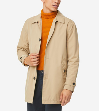 Cole Haan Stand Collar Rain Jacket