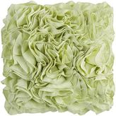 Pier 1 Imports Flounce Lily Green Pillow