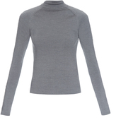 Balenciaga Staple-embellished wool top