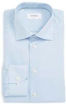 Eton Men's Slim Fit Dot Dress Shirt