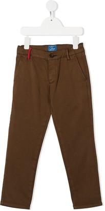 Fay Kids Straight Leg Chino Trousers
