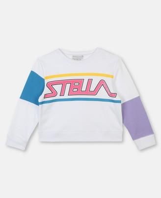 Stella McCartney sport sweatshirt with logo print