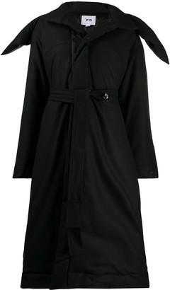 Y-3 Oversize Collar Coat
