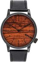 Komono The Winston Watch Black Wood